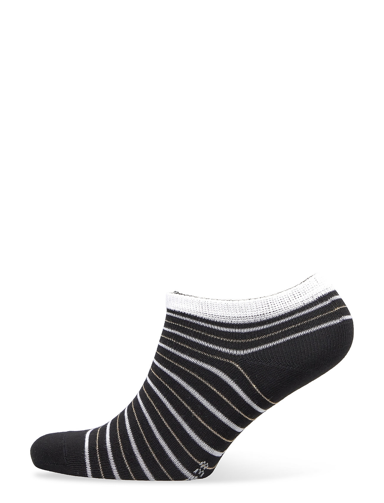 Falke Stripe Shimmer Sn Lingerie Socks Footies/Ankle Socks Sort Falke Women
