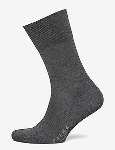 FALKE Tiago SO - vanlige sokker - anthracite mel.
