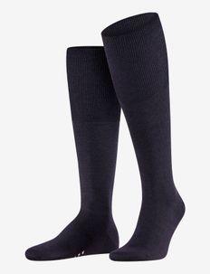 Airport KH - regular socks - dark navy