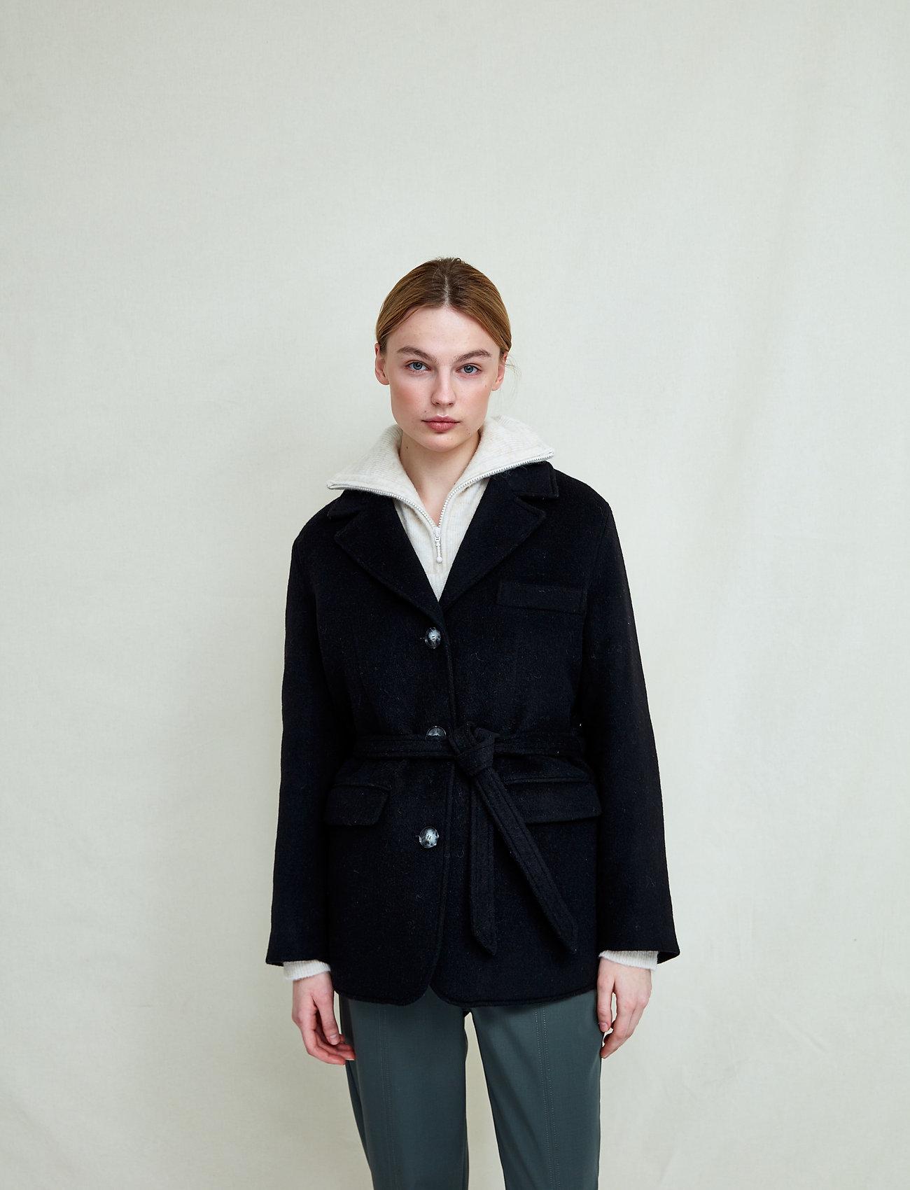 Fall Winter Spring Summer - Doo Wop - wool jackets - jet black - 0