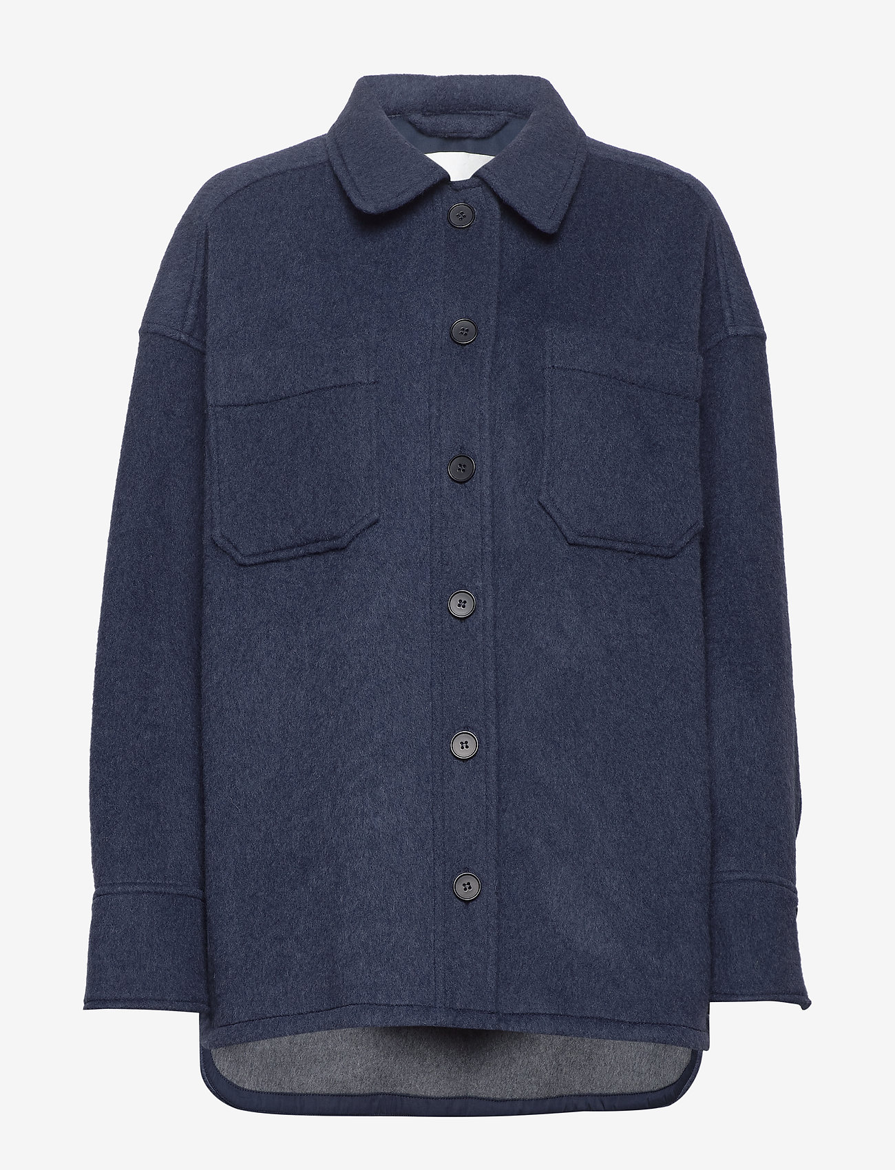 Fall Winter Spring Summer - Sealiner Wool - overshirts - blue nights - 1