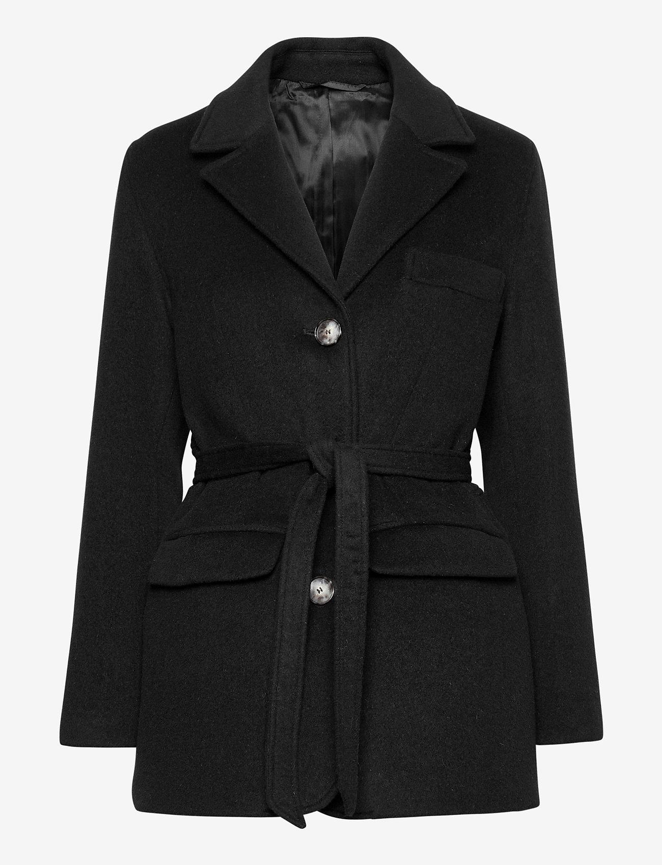 Fall Winter Spring Summer - Doo Wop - wool jackets - jet black - 1