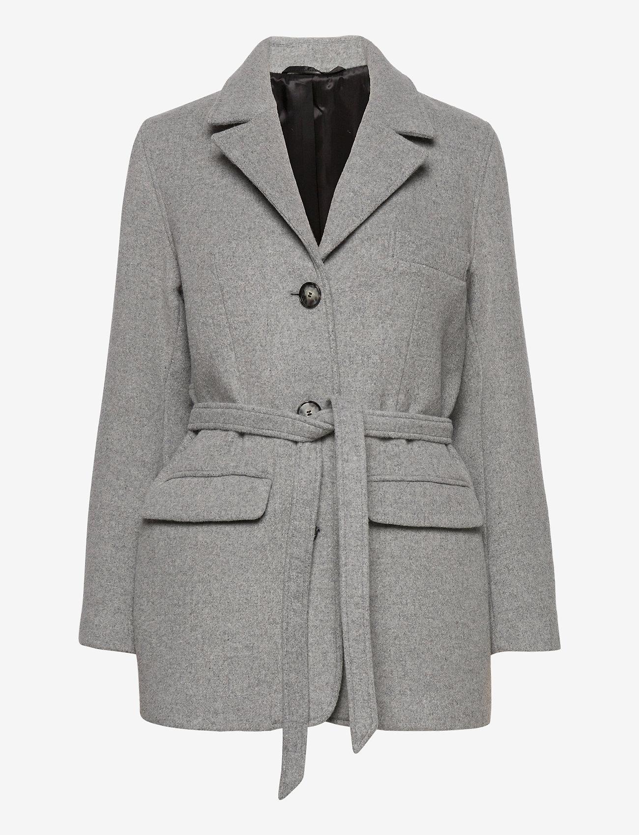 Fall Winter Spring Summer - Doo Wop - wool jackets - light gray - 0
