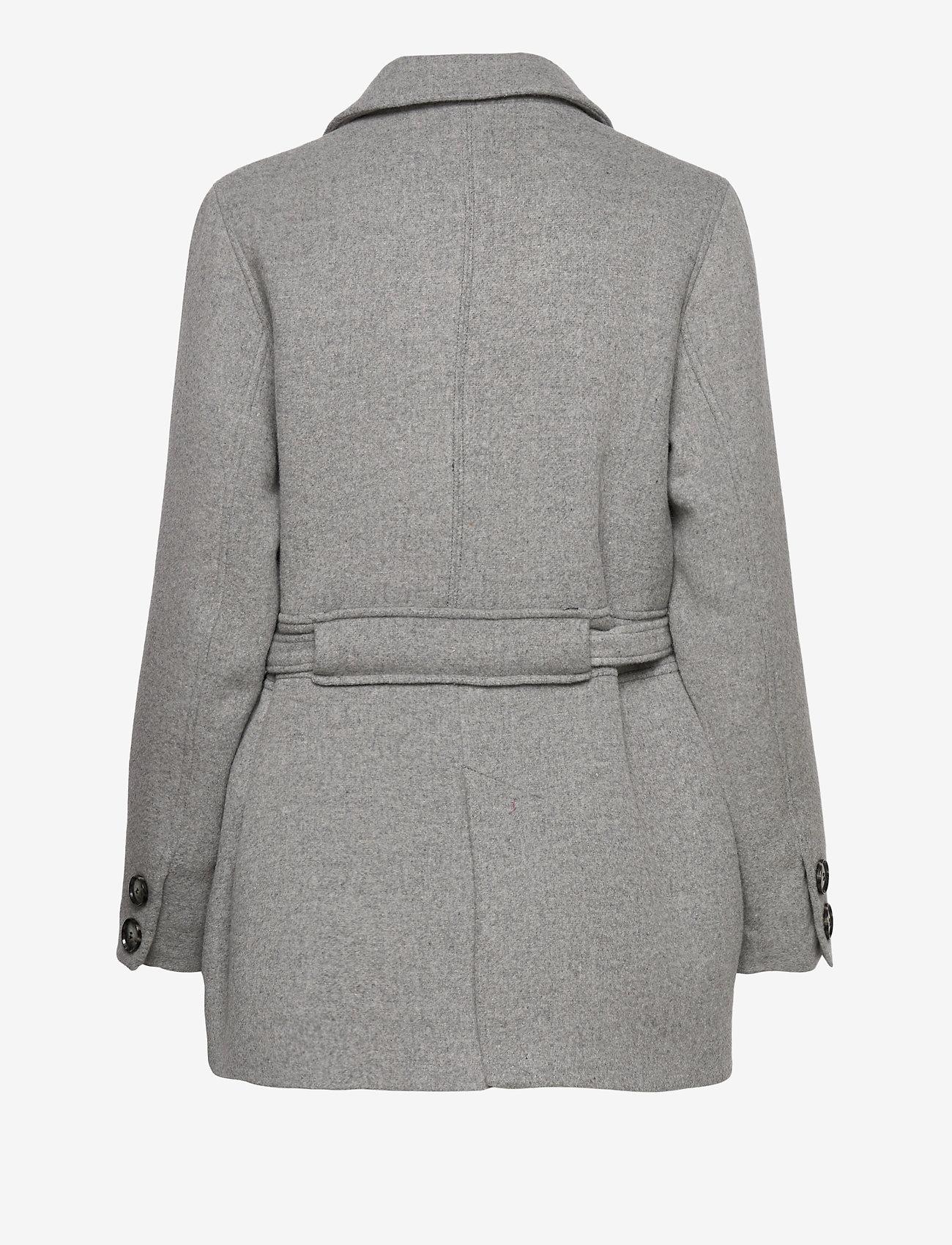 Fall Winter Spring Summer - Doo Wop - wool jackets - light gray - 1