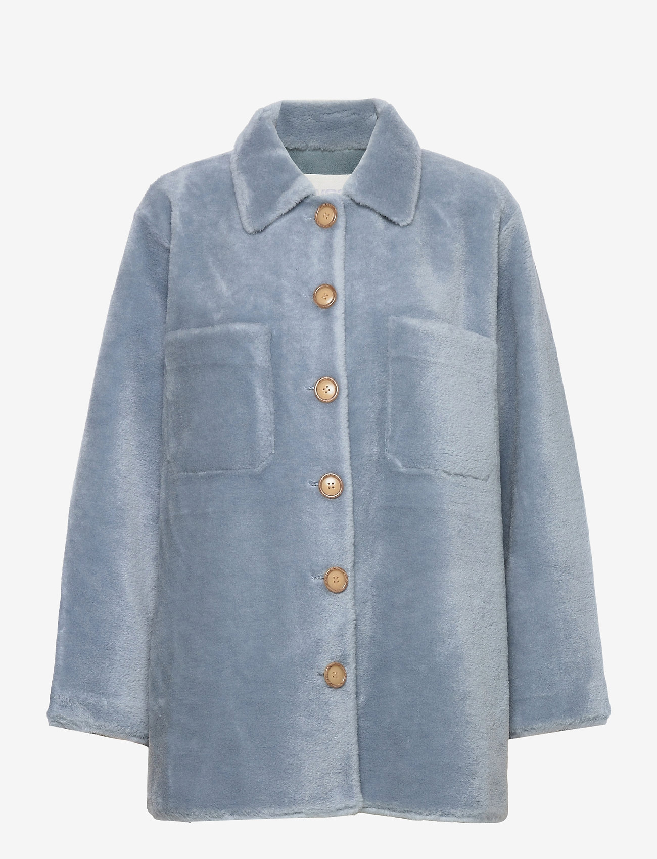Fall Winter Spring Summer - Sealiner Teddy - faux fur - blue fog - 0