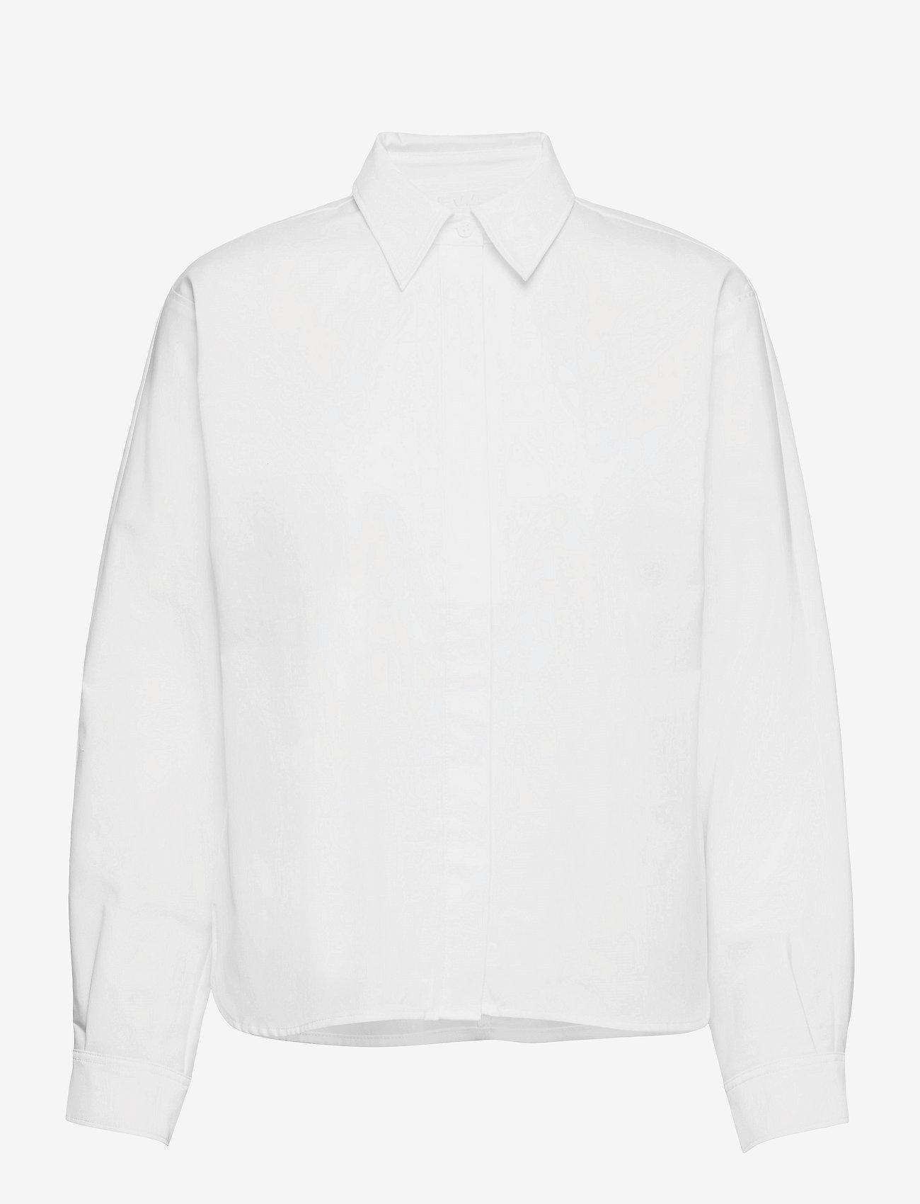Fall Winter Spring Summer - Wabi Shirt - långärmade skjortor - bright white - 0