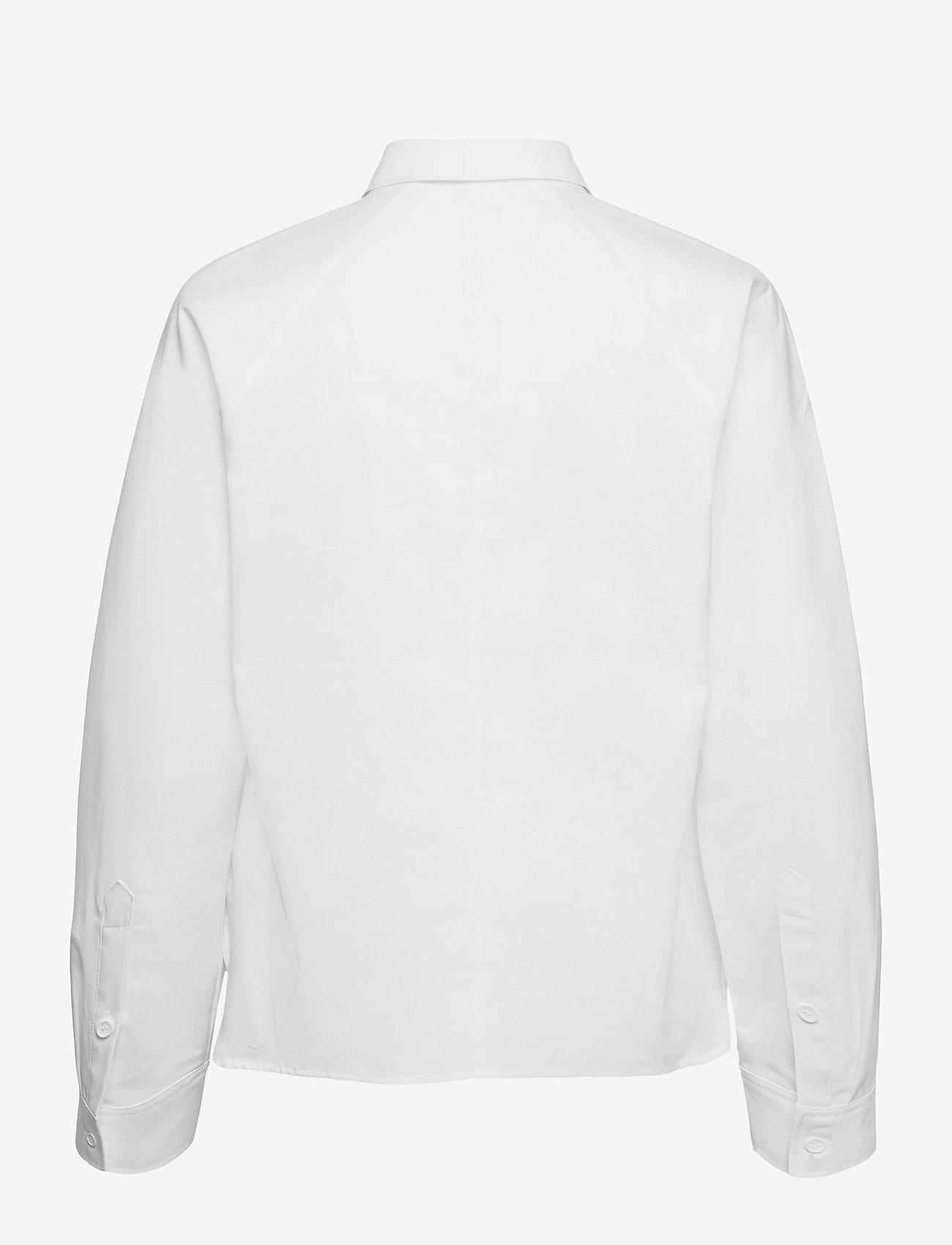 Fall Winter Spring Summer - Wabi Shirt - långärmade skjortor - bright white - 1
