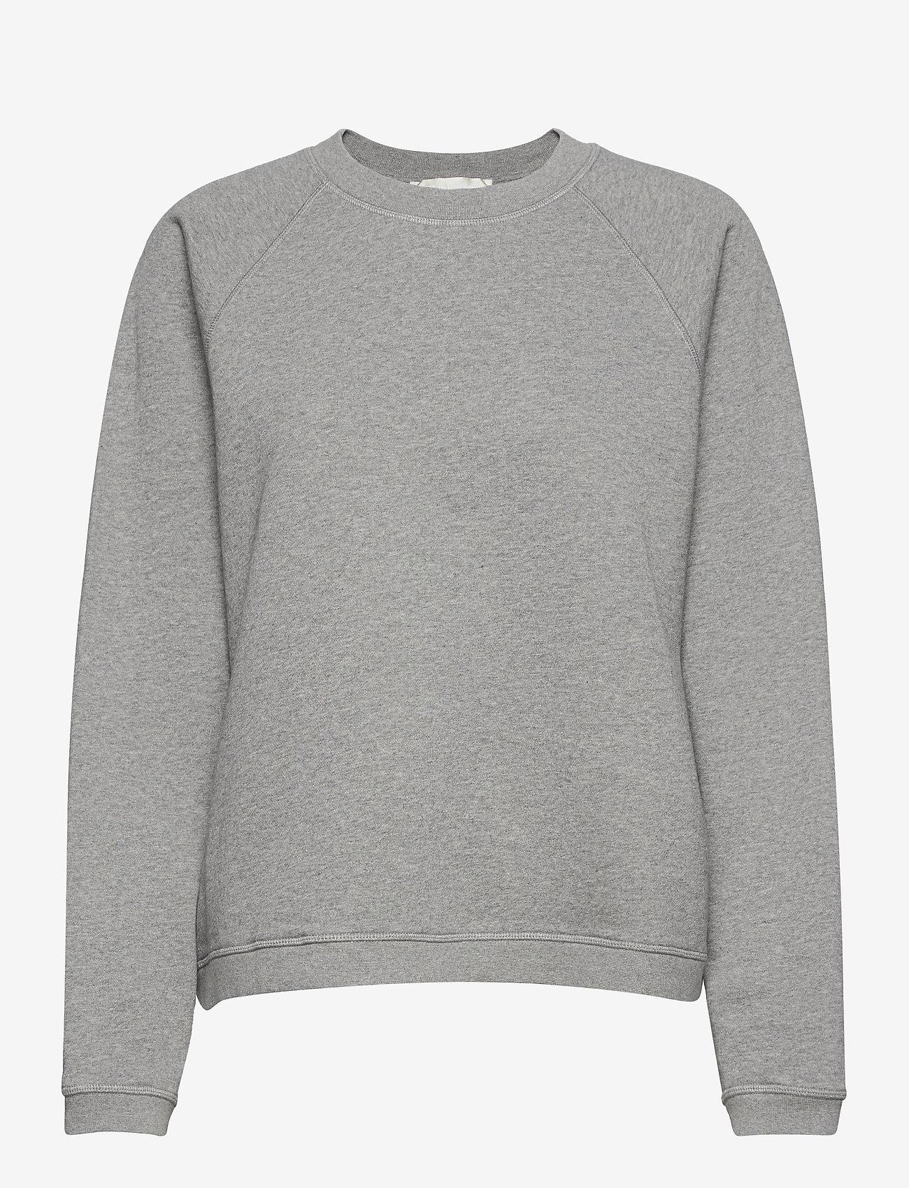Fall Winter Spring Summer - Seijaku Sweatshirt - sweatshirts & hoodies - gray melange - 0