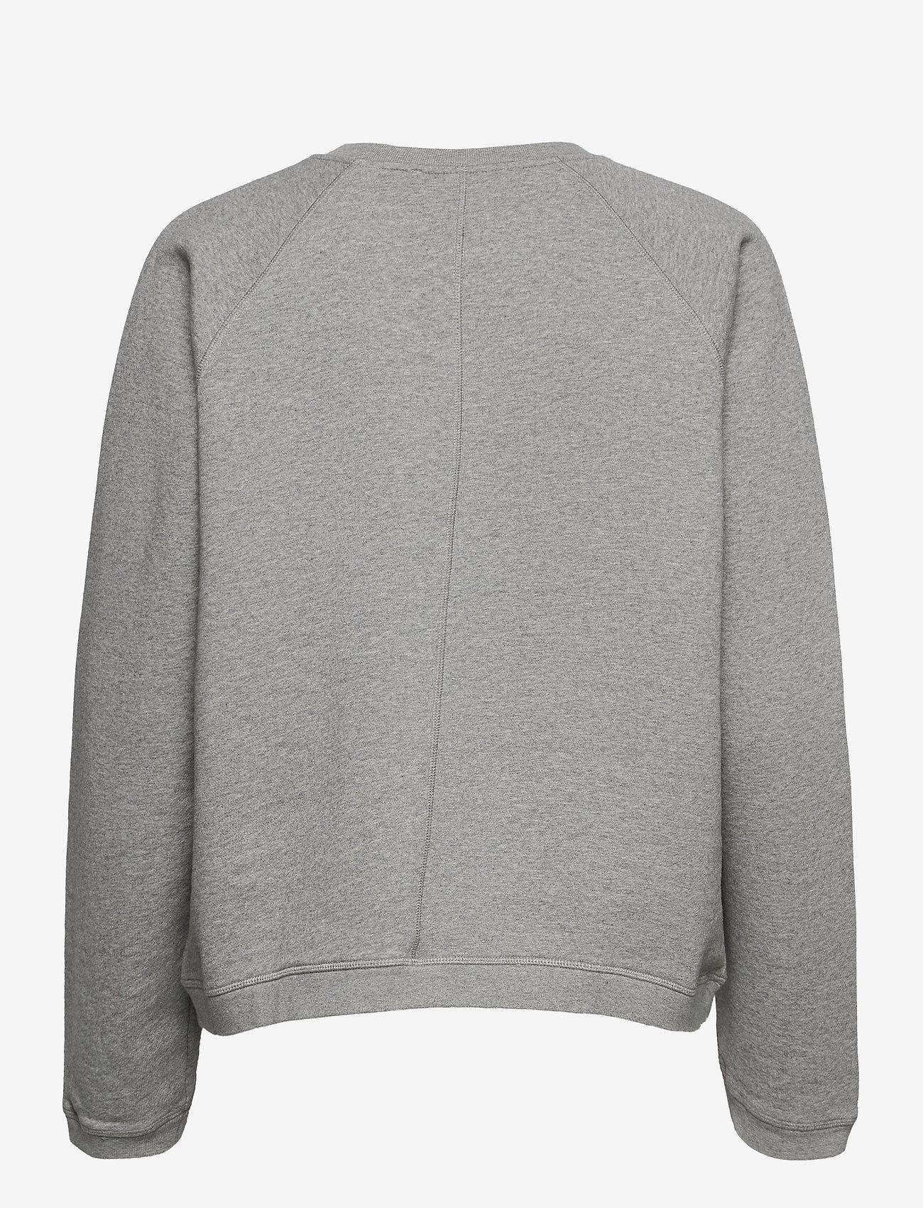 Fall Winter Spring Summer - Seijaku Sweatshirt - sweatshirts & hoodies - gray melange - 1