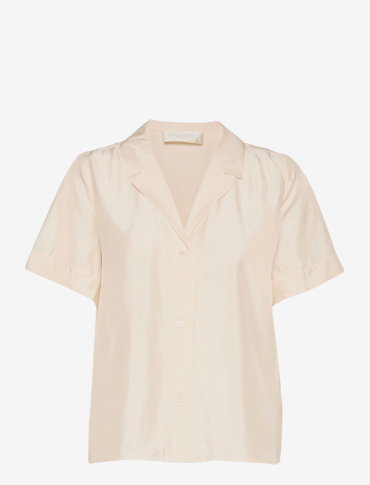 Fall Winter Spring Summer - Hong Kong Garden - kortärmade skjortor - jet stream white - 0
