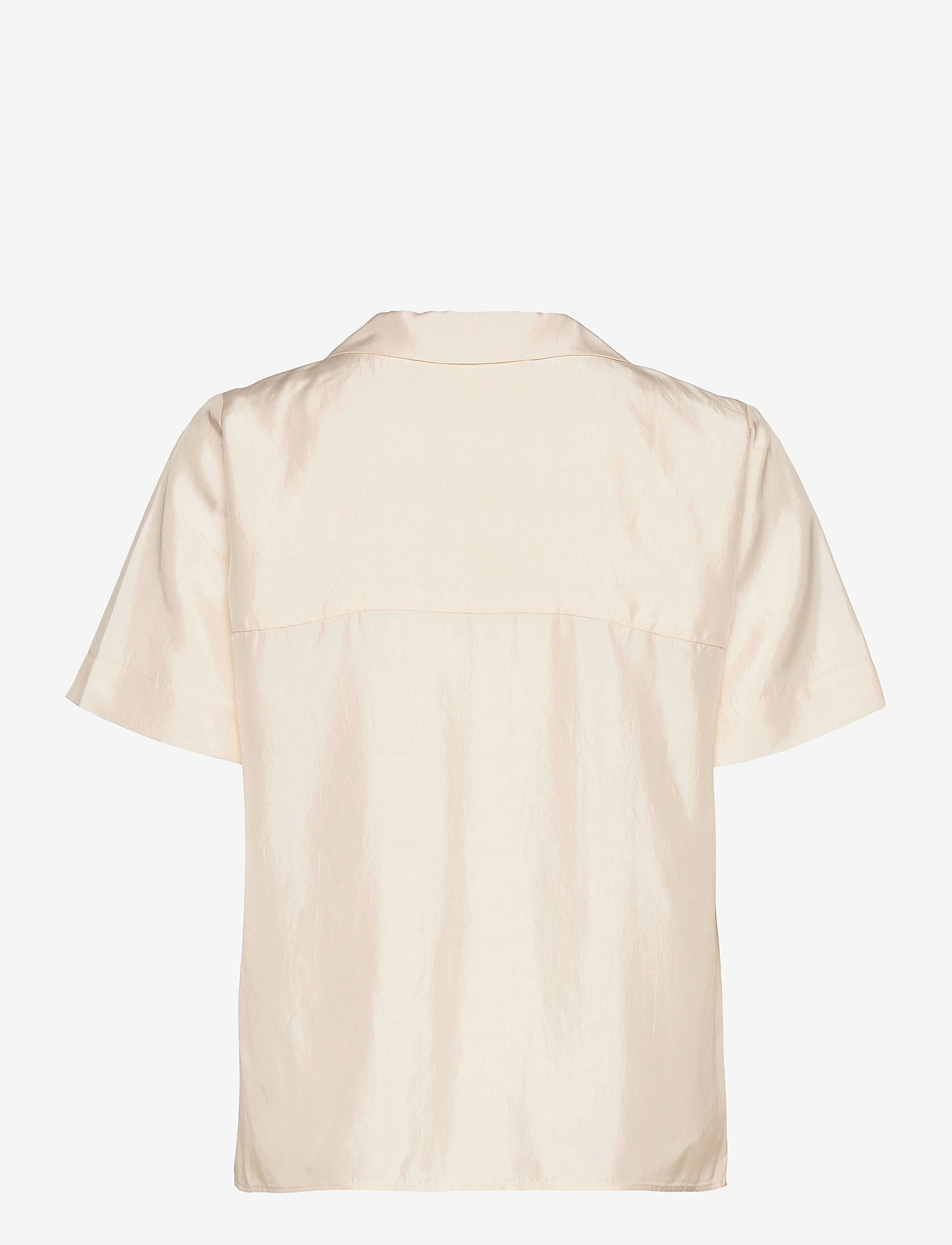Fall Winter Spring Summer - Hong Kong Garden - kortärmade skjortor - jet stream white - 1