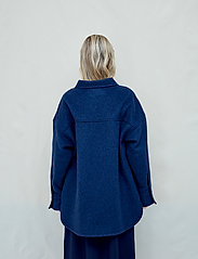 Fall Winter Spring Summer - Sealiner Wool - overshirts - blue nights - 3
