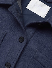 Fall Winter Spring Summer - Sealiner Wool - overshirts - blue nights - 5