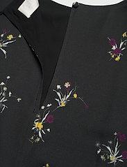 Fall Winter Spring Summer - Torn - midiklänningar - ikebana flower mini black - 2