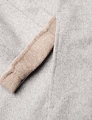 Fall Winter Spring Summer - Wabi Coat - ullkappor - light gray melange - 3