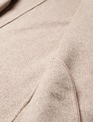 Fall Winter Spring Summer - Wabi Coat - ullkappor - light gray melange - 4