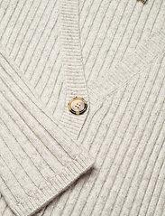Fall Winter Spring Summer - Tsugi Cardigan - koftor - light gray melange - 2