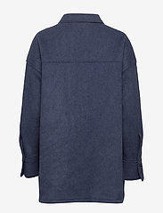 Fall Winter Spring Summer - Sealiner Wool - overshirts - blue nights - 2