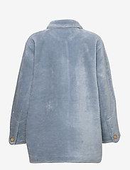Fall Winter Spring Summer - Sealiner Teddy - faux fur - blue fog - 1