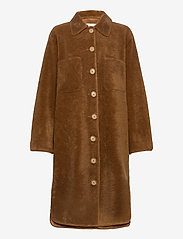 Fall Winter Spring Summer - Sealiner Teddy Long - faux fur - toffee - 0