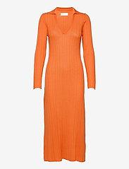 Fall Winter Spring Summer - Tearz Dress - sommarklänningar - dusty orange - 0