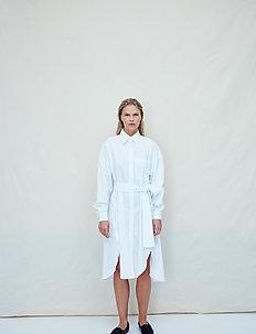 Kim - shirt dresses - bright white