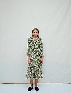 Pauline - midi dresses - vintage flowery