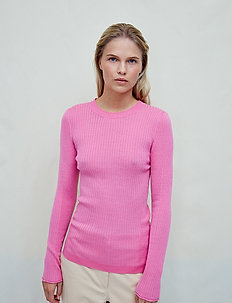 Annika - long-sleeved tops - hot pink