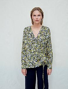 Nicole - long sleeved blouses - vintage flowery