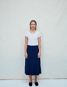 Renata - midi skirts - blue nights