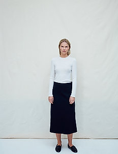 Renata - midi skirts - jet black