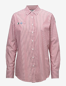 Speed Racer - long-sleeved shirts - red stripe