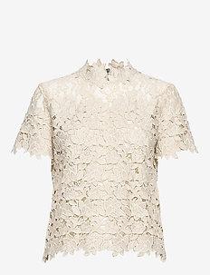 Ruth - short-sleeved blouses - moonbeam