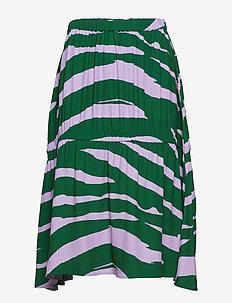 Olivia - midi skirts - pink lavender zebra
