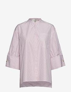 Oline - long-sleeved shirts - red stripe