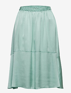 Lisbet - midi skirts - grayed jade
