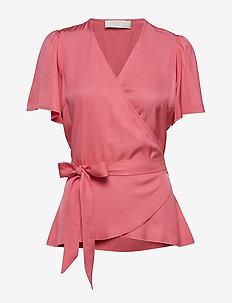 Vanessa - short-sleeved blouses - fruit dove