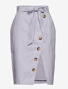 Stambecco - midi skirts - misty lilac