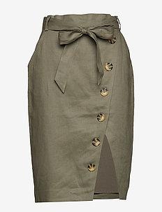 Stambecco - midi skirts - silver sage