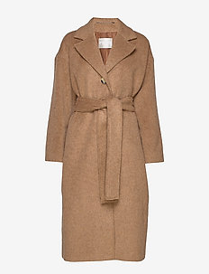 The Bells 2 - wool coats - camel