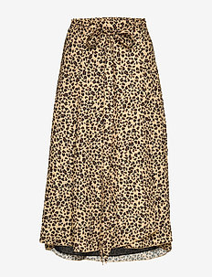 Inger Johanne 2 - midi skirts - classic mini leopard