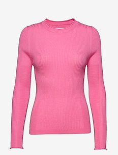 Annika - long-sleeved tops - hot pink