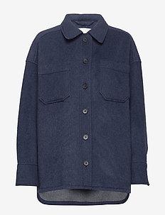 Sealiner Wool - wełniane kurtki - blue nights