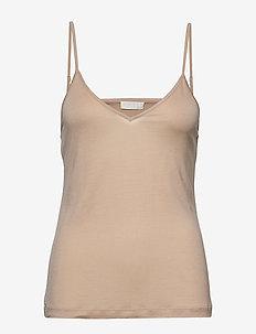 Never said - t-shirt & tops - smoke grey nude