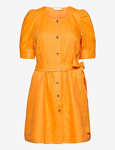 Simone - korta klänningar - kumquat