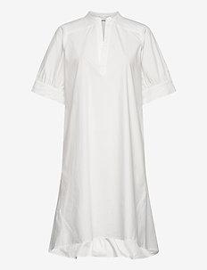 Elen - skjortklänningar - bright white