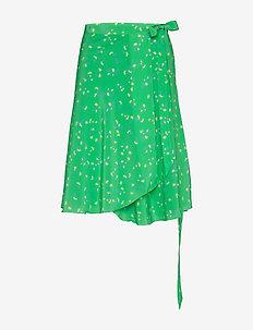 Inger Johanne - midi skirts - green spring bouquet