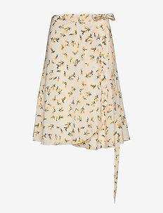 Inger Johanne - midi skirts - vanilla spring bouquet