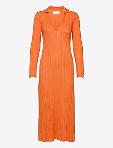 Tearz Dress - bodycon dresses - dusty orange