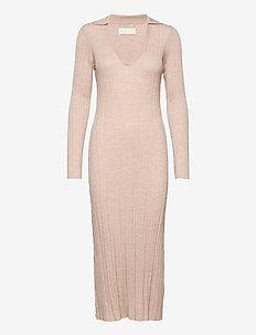 Tearz Dress - bodycon dresses - wheat